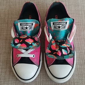 Converse All Star Double Tongue Low Top Sneakers